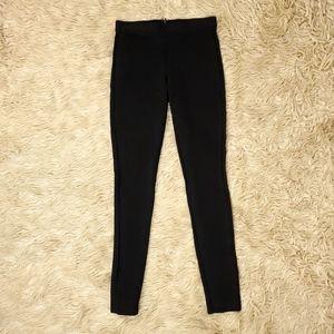 J Crew Womens Pixie Pants Black Stretch Jeans